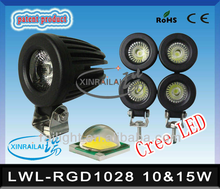 led work light waterproof ip68 RGD1028 fishing black light for boat