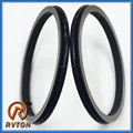 large size NBR rubber O-ring with metal seal 208-27-00210 floating oil seal
