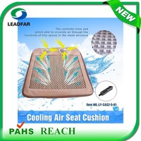 air circulation air cooling fan strong cooling air seat cushion for summer