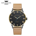 Hot sale Japan movement quartz watch, stainless steel case back watch for men