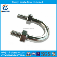 High Tensile 304/316 Stainless Steel U Bolts with Nuts