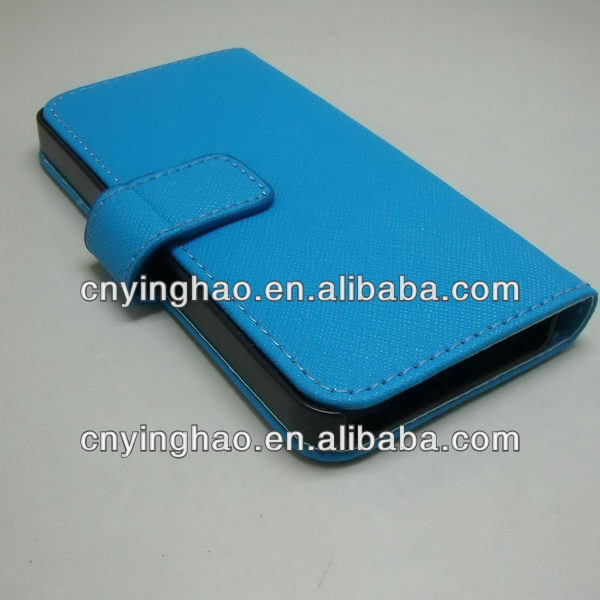 Super quality hot sell for blackberry bold 9790 leather case