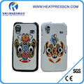 Rubber + Plastic sublimation mobile phone case for samsung S5830