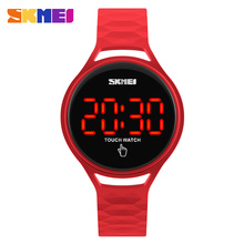 Skmei brand wholesale led digital watches simple touch screen #1230