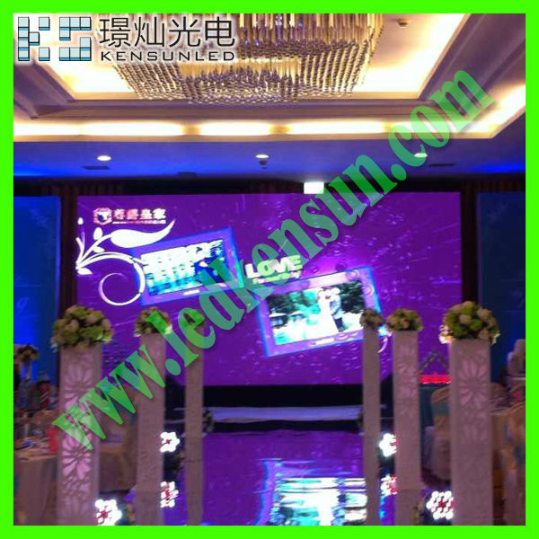 Energy saving full color HD LED video display screen advertising trailer
