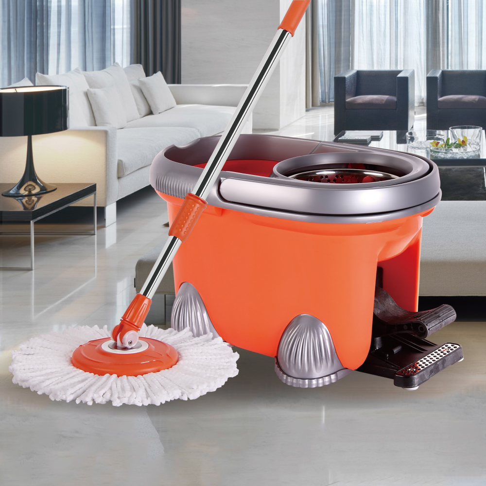 Microfiber Mop Fabric Easy Life 360 Rotating Spin Magic Turbo Mop Manufacturers Online Shopping