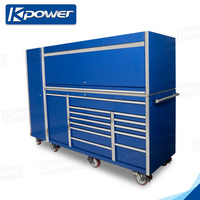 large extra strength 76 inch 13 drawer rolling cabinet