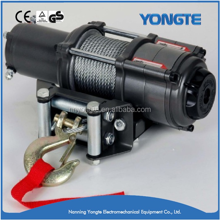 China 4x4 boat anchor 12000lb electric winch