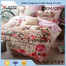 left bank dubai luxury bed linen sateen bed linen sateen bed cover duvet cover set pillow cover China wholesale