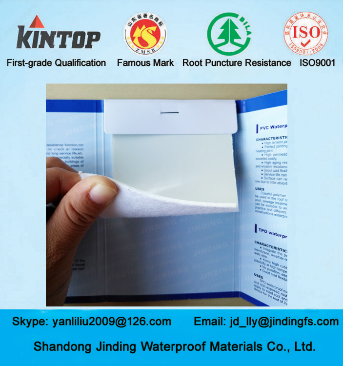 Good quality tpo waterproof membrane for roof