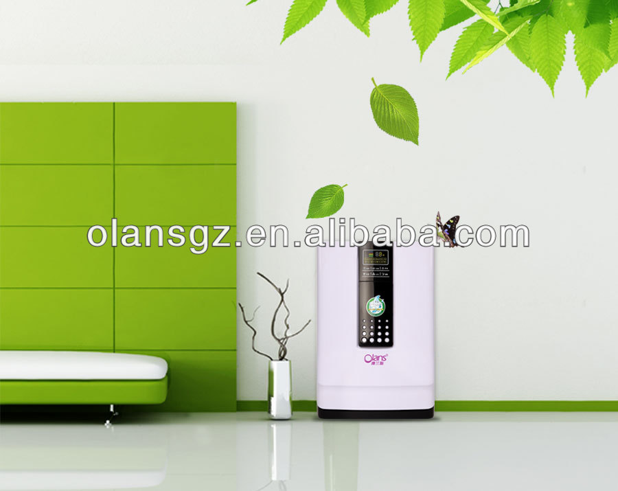 auto ozone air purifier olans,air purifier with ESP for grease purification and oil collecting