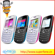 2.0 inch cheap china large button qwerty keyboard unlocked mobile phone D101 support TV for sale