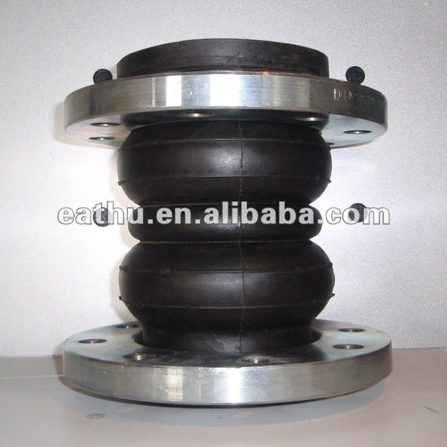 PN16 double sphere rubber expansion joint