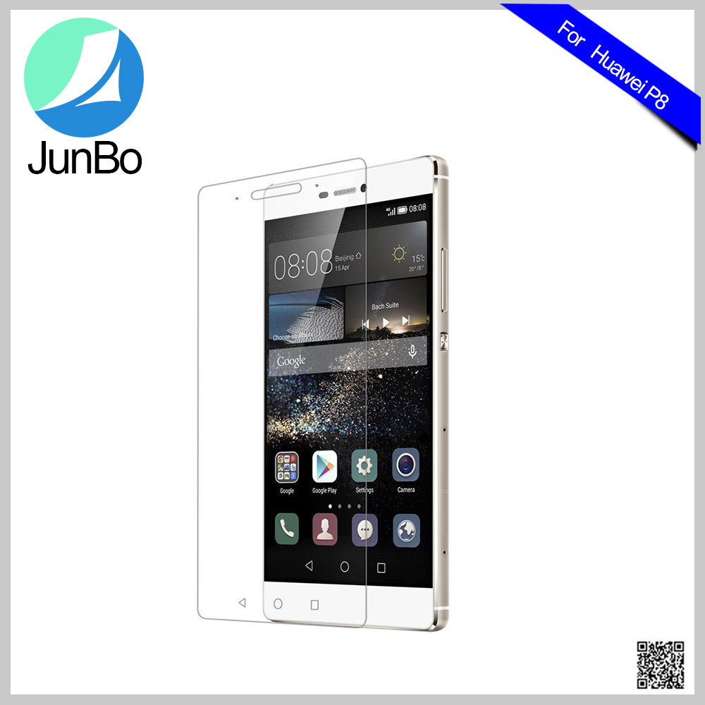Phone Accessories Tempered Glass Screen Protector for Huawei P8