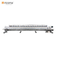 Automatic Industrial 30 Multi-head Flat Computerized Embroidery Machine FHT-0930 like Barudan Embroidery Machine Price