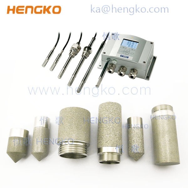 Stainless Steel Probe Filter Housing Digital Temperature and Humidity poultry farming equipment Sensor