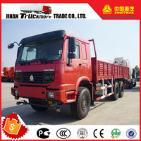 Engine 290PS Euro II Left Hand Drive SINOTRUK HOWO All Wheel Driving 6x6 Cargo Heavy Duty Truck
