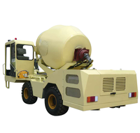 2 Cubic Meters Self Loading Mobile Cement Mixer Truck