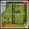 2014 The Hot Sale High Quality Black Vinyl Coated Chain Link Fence High Quality With ISO 9001