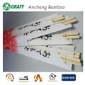 cheap bamboo bulk chop sticks with logo on wrapped paper