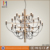 GINO SARFATTI LAMP 30 chrome chandelier