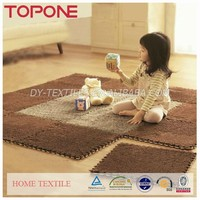 Customized high quality colorful soft winter home useful baby carpet