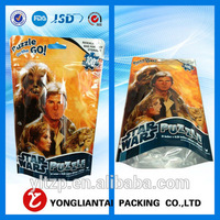 custom printed plastic bag,food package for snack with window