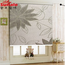 2018 Middle East Popularity Jacquard Fabric Blackout Roller Blinds curtains from China
