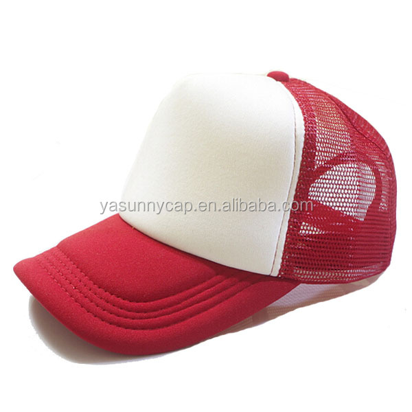 New design hot sale mesh trucker caps plain trucker cap
