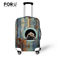 Polyester Makeup Fancy Pets Protective Cover Self Suitcase Cover Of Suitcase Parts
