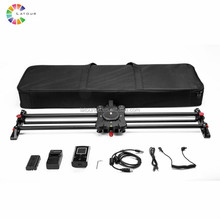 Portable motorized camera slider dolly carbon fiber shooting photography video slider GP-80QD