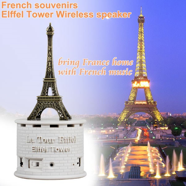 Beautiful Clear Eiffel Tower Model,Eiffel Towel Figurine for Birthday souvenirs,Travel Gift