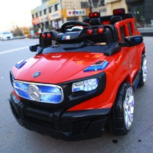 Double Motor Ride on car 12v SUV Battery Powered Toys Car for Big Kids