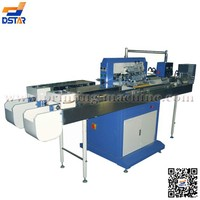 DX-SP1 full automation 1 color plastic tube screen printing machine