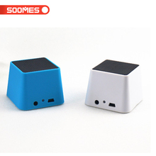 Mini portable outdoor colorful small magic square subwoofer speaker
