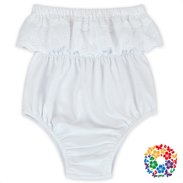 2017 Hot Cute Baby Swing Top Bloomer Plain Solid Color Cotton Diaper Shorts Baby Girl Bloomers With Tassels