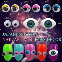 cute harajuku accessories nail mini eyeball Beads decoration