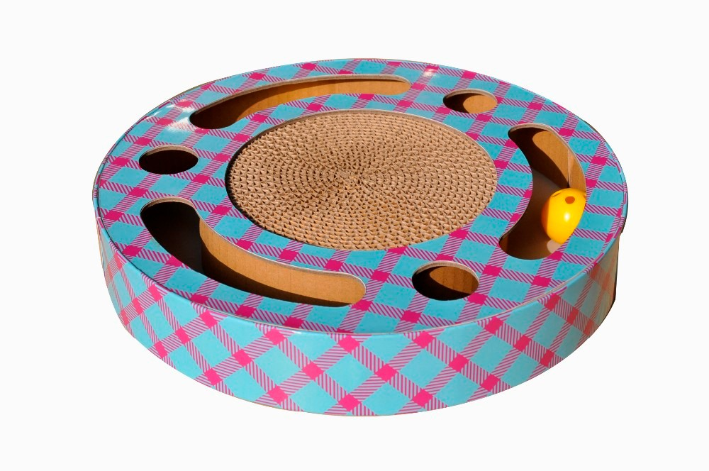 2017 Good Selling Cat Scratcher Pad Toy