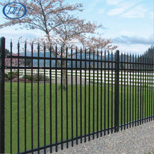 Suzhou factory wholesale wrought iron fence for residential area Dihang brand certified by ISO9001