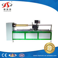 Manufacturers full-automatic cnc fabric leather use SSQG-918 strip cutting machine