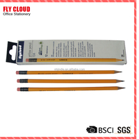 2016 Promotion China cheap yellow pencil