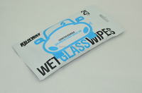 40pc/canister auto/car window wipe, wet cleaner