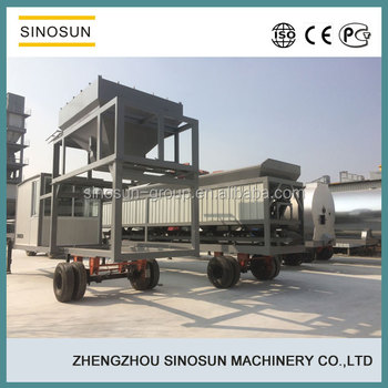 CAP20 mobile mini asphalt plant with capacity 20tph