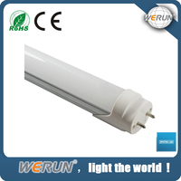 Transparent cover milky cover newest design T8 led tube light