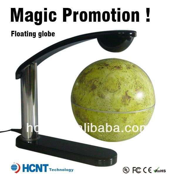 New Invention ! Maglev floating Globe for Promotion Gift ! can projection your logo and printing your logo