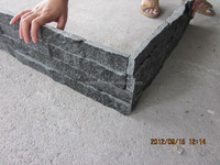 Charcoal thin rock stone veneer panels lowes