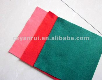 Viscose needle punched nonwoven fabric