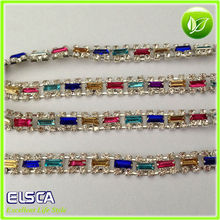 Wholesale crystal rhinestones chain trimming