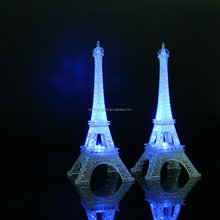 LED Flashing plastic Eiffel Tower
