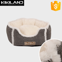 Soft plush& suede dog house for sale with High quality